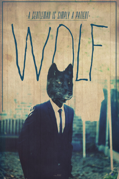 just-art:  Wolf By Silkz  I love this.