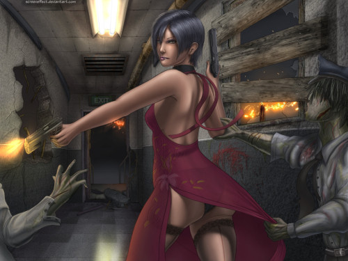 CHG pt.3: Ada Wong by ~ScreenEffect