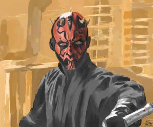 DARTH MAUL by: Gilbert Pena