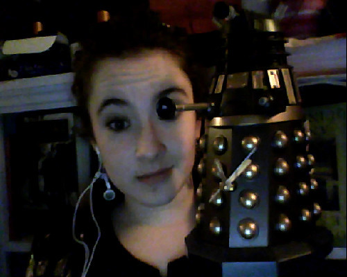 I also have a dalek alarm clock. So.