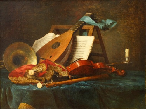 necspenecmetu:  Anne Vallayer-Coster, Musical Instruments, 1770