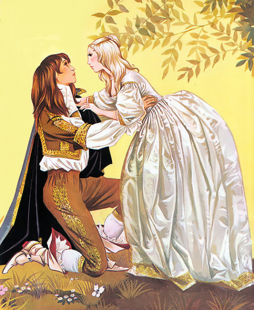 "fairytalemood:  ""Beauty and the Beast"" by Anne and Janet Grahame Johnstone"