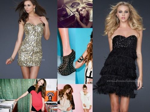 Get Grammy Glam in La Femme! What will you be wearing this weekend???? Show us PHOTOS!!!