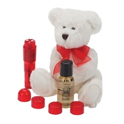 This just in: Cute and Cuddly Massage Ensemble - a perfect VDay gift!
