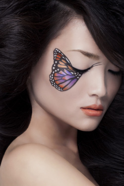 cocobdemure:Butterfly          My face needs this!