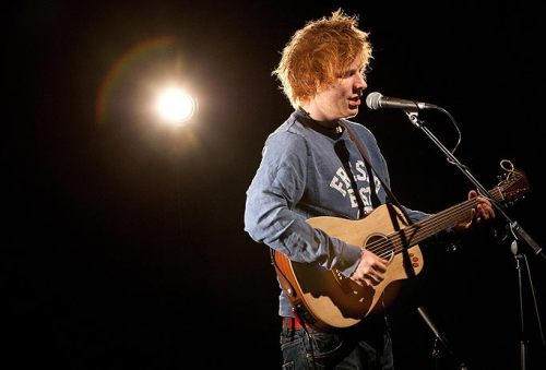 I'm so happy for Ed Sheeran's success in the past year. I remember first arriving at University and introducing everyone to his music because I felt people's lives were not complete without a bit of these mans voice in it. Thankfully people shared my interest and a small group of us went off to see him at Leed's Cockpit 25th May 2011. It was a beautiful small venue under the railway arches and the angelic Irish singer Kal Lavelle was supporting. The maximum capacity for the venue was about 100 people, Ed wasn't well known by this point and so there was no teenage fan club, in awe, fighting for a chance to touch his sweaty palms. This allowed him to stroll on through the crowd, stand upon bar (which we were standing next) and sing an acoustic 5 song encore. We happily introduced ourselves to both Ed and Kal after the show and had our tickets signed for memento's. It was a brilliant evening and every time I hear an Ed Sheeran song the radio it never fails to hold my attention. It has to be said, I do love Ed Sheeran like the 10 year old girl inside me loved Gareth Gates. How sad, but so true and hold this memory in good keep. *criiiiiiiinge*