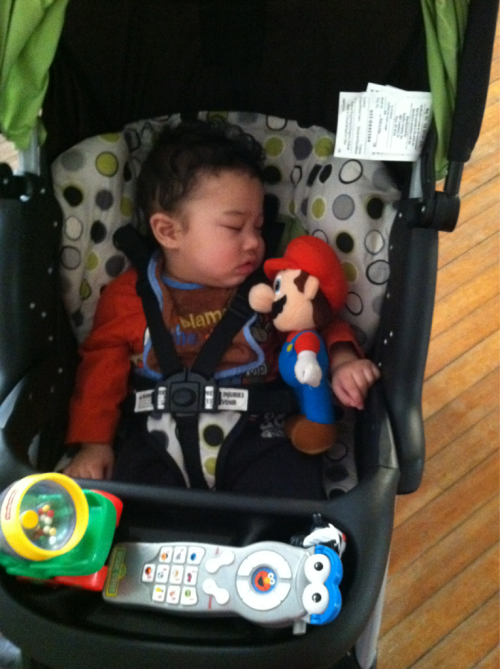 Knocked out with Mario :]