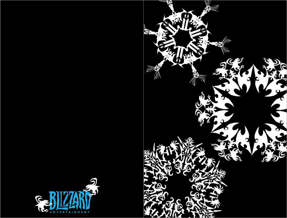 Entered the Blizz holiday card contest on a lark. Didn't win anything (and the winner's piece was freaking AMAZING), but had fun working on this.