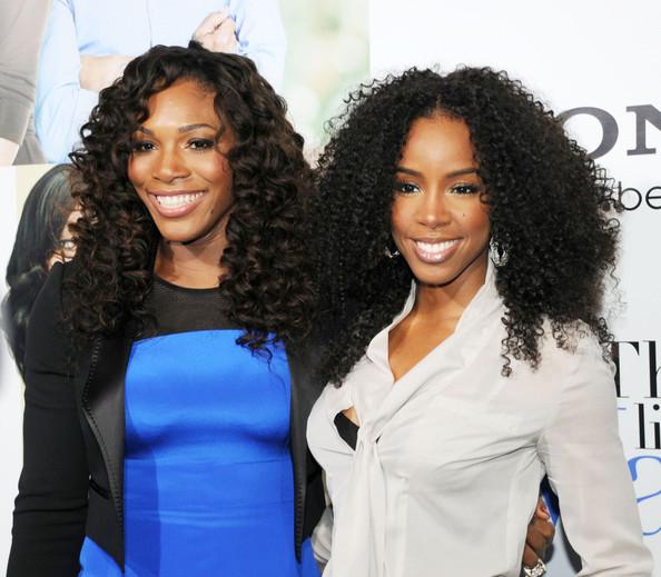 "Here's a pic of Serena Williams from last nights ""Think Like A Man"" Premiere. We opted for a sexy, neutral smokey eye!"
