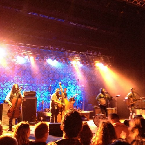 Avett Bros. in South Florida (Taken with Instagram at Sunset Cove Ampitheatre)
