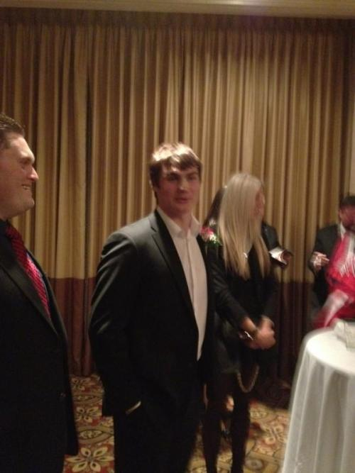 Dmitry Orlov at Caps Casino Night! (via @PRobbio)