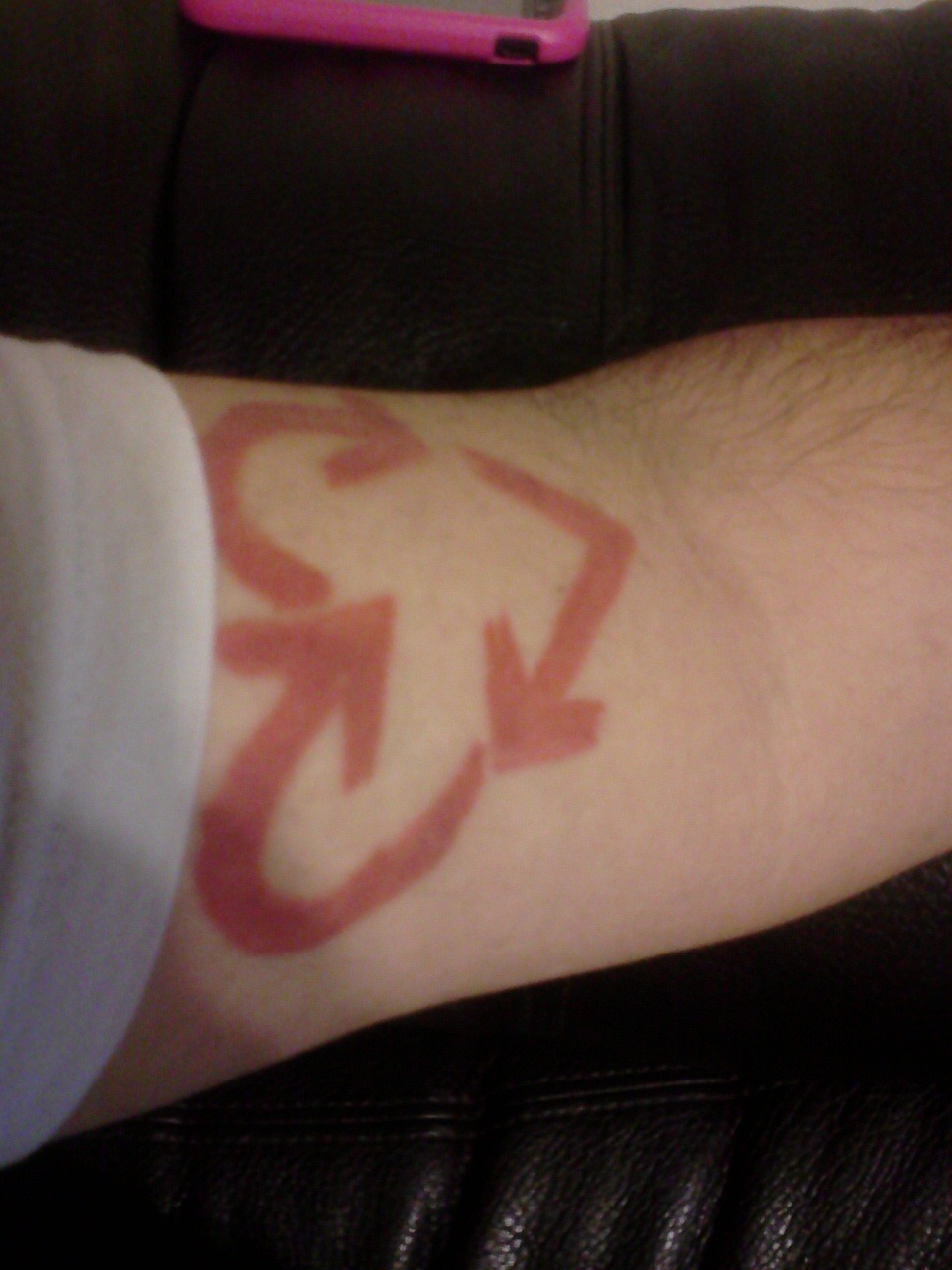 My stick to your guns 'hope division' symbol tattoo