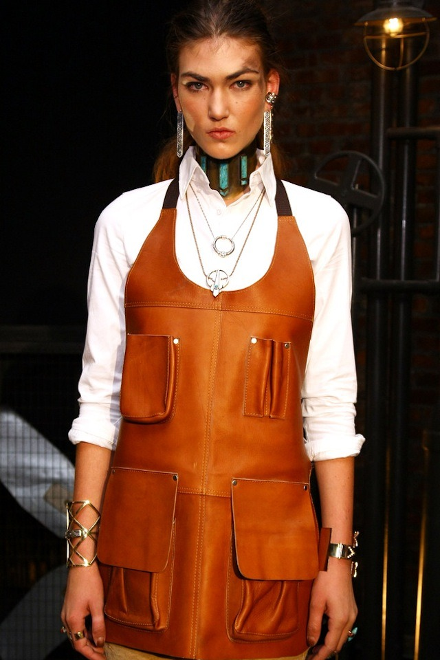oystermag:  Pamela Love Fall 2012 at NYFW