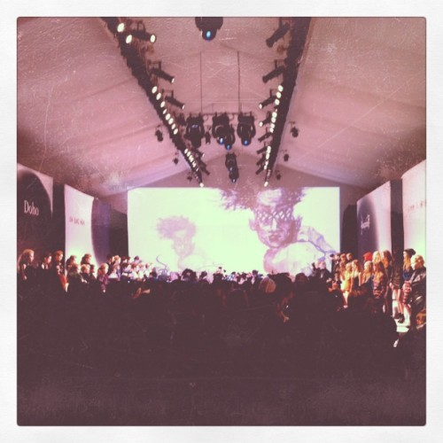 Fashion mayhem #nyfw (Taken with instagram)