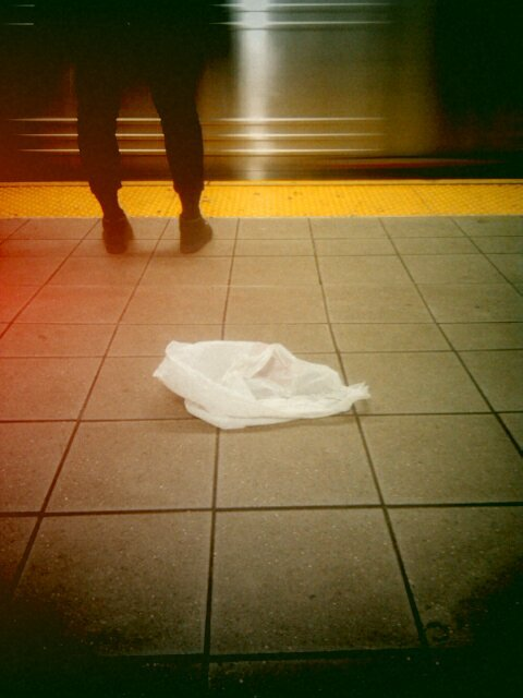 Foot photos: Jay-Metrotech feet / train / plastic [photo © Maitreya Levanchild]
