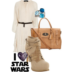 Luke Skywalker by bibi-862 featuring a tie neck dressIsabel Marant tie neck dress, $925Christian Dior crocs boots, $1,190Mulberry genuine leather handbag, $1,500LE VIAN diamond jewelry, $2,050