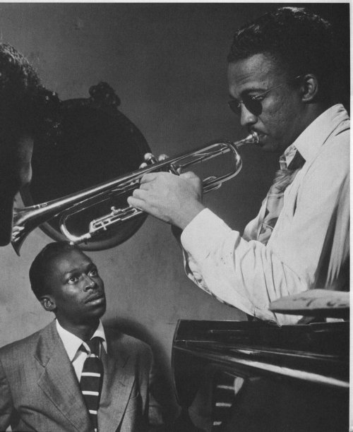 Miles Davis and Howard McGhee