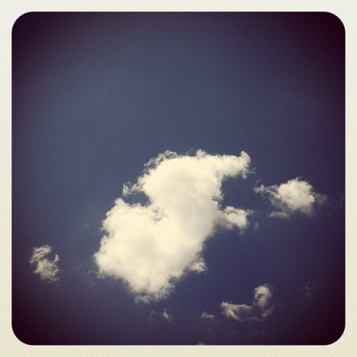 "Awan nano di kejauhan"" #ig #instagood #sky #cloud #clouds  (Taken with instagram)"
