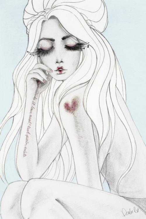 heydanniela:  illustration that i made for amoretones  reblogging myself lol