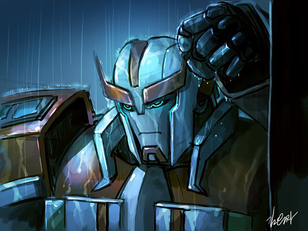 chriseminemery:  TF prime Ratchet by ~GoddessMechanic