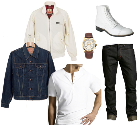 Ryan Gosling's Clothes in Drive | For the Young Dude @fortheyoungdude.com