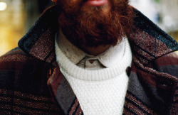 roguefashion:  Beards count as winter layers.