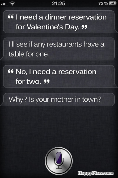 Siri knows you better!