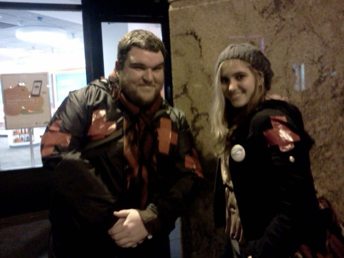 OccupySF Street Medics: Looking cute and looking after you! <3  LOL