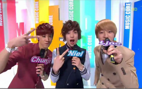 MBC Music Core 02.11.2012  Music Core Performances today by  MBLAQ, T-ara, Teen Top, FT Island, Davichi,  Boyfriend, Dal Shabet, B.A.P, Nine Muses, SPICA, Sweet Sorrow, Ailee,  Fat Cat, Chaos,  X-5 and Block B (watch the performances!!!)