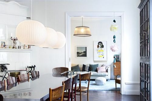 archiphile:  scandinavian interior design | more dining rooms
