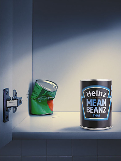 "Heinz: Punch ""Mean Beanz."" by Leo Burnett via IBelieveInAdv"