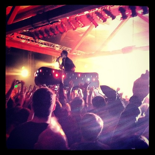 Thanks for the incredible night @mutemath! (Taken with instagram)