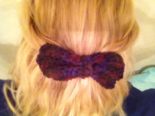 Started making these bow barrettes this week. So in love with them.