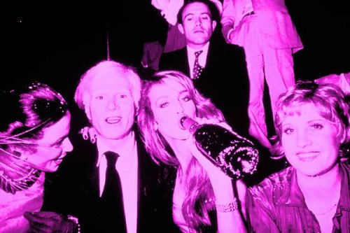 "Another quote(ish) from Andy Warhol's diary: ""This queue into Studio 54 just isn't moving. The door bitch is fighting with Bianca Jagger and her stupid, coke-fueled horse just took a dump on Jerry Hall's white, silver-tipped Manolo Blahnik pumps. Hurry up already. This wig isn't going to last all night! Note to self: avoid Liza with a Z and Mariel Hemingway."""