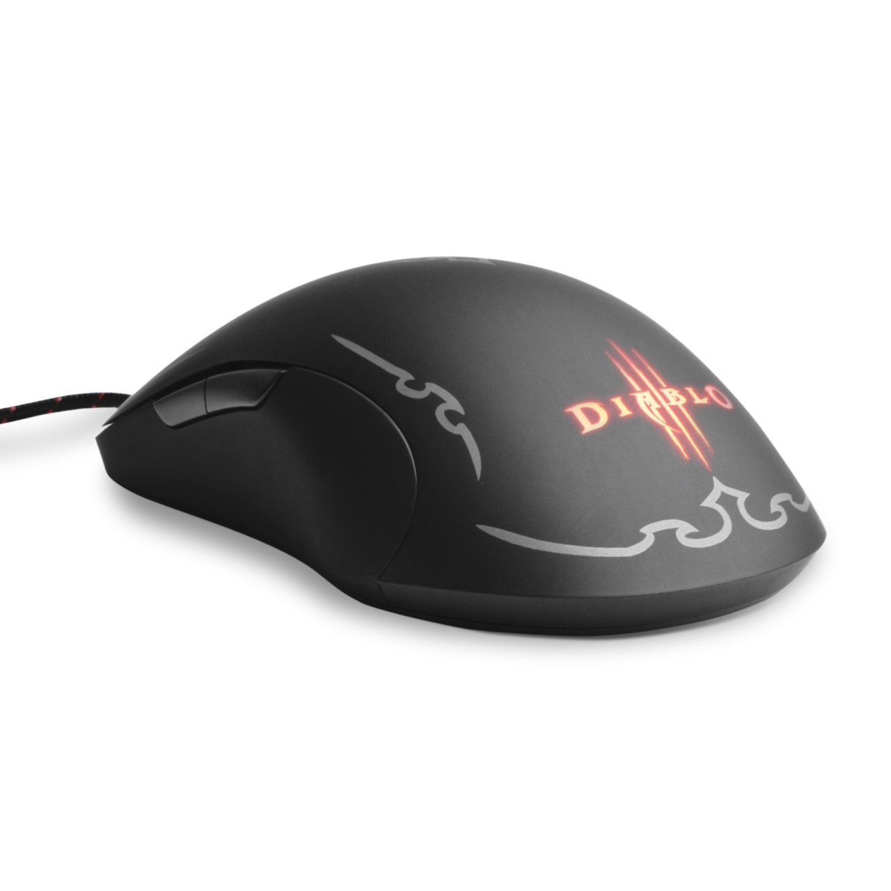 Diablo III Gaming Mouse at $69.99 A new generation of heroes must prepare against the evils that threaten the world of Sanctuary. Arm yourself with a weapon: the SteelSeries Diablo III Gaming Mouse, co-designed by the creators of Diablo III, for your battle against the rising powers of the Burning Hells.