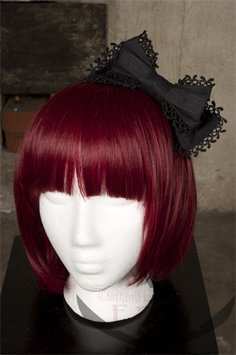 Black hairbow from Ergi by Piratessan