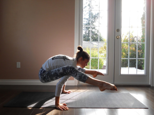 allesfit:  Firefly (Tittibhasana). Source and photo step-by-step instruction how to.