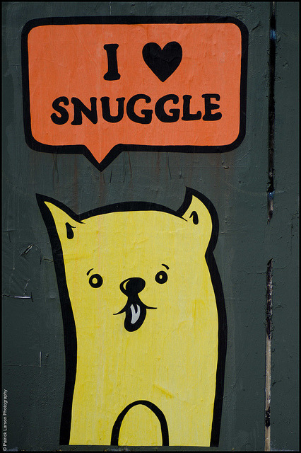 I Heart Snuggle. Austin, TX. Photo by Patrick Larson.