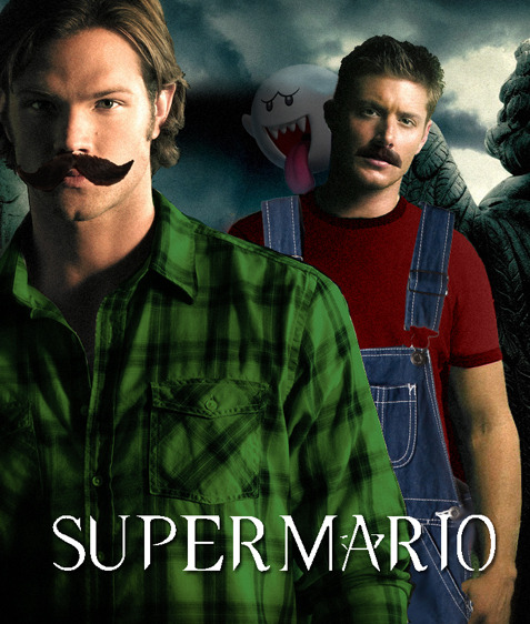 "deeeanspeeeeeeeeeeeeeeenis:     #So Cas is Princess Peach then?   WHAT HAVE I DONE  ""I'm fixing your sink"""