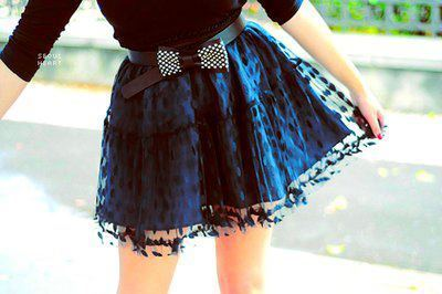 Cutest skirt and belt.