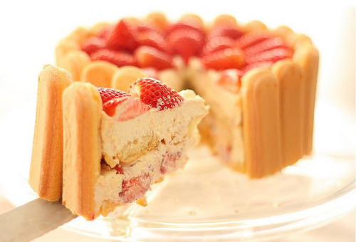 foodescapades:  Strawberry Tiramisu