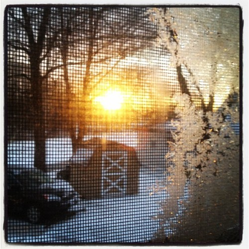 out my window, 7:09am (Taken with instagram)
