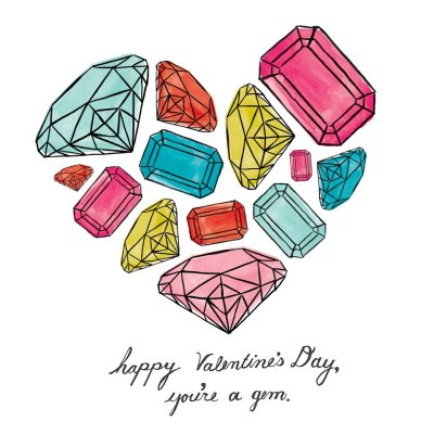 to my gems lo and mc: you are the only lovers i need. happy valentines day.