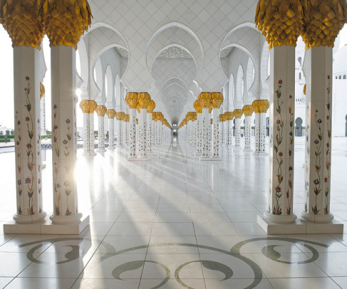consumo-dunque-sono:  Sheikh Zayed Grand Mosque by UAEWings on Flickr.