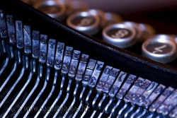 old macro typewriter by cozmicberliner on Flickr.
