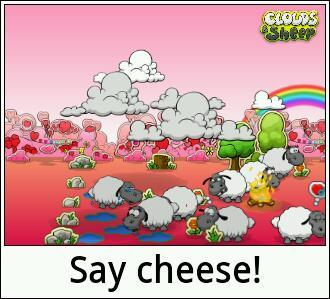 Clouds & Sheeps. Fav game dudes