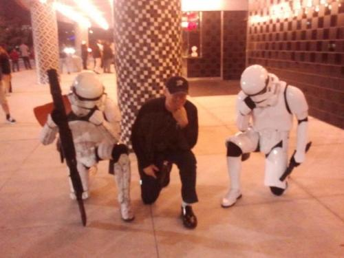 Tebowing.. in the galaxy far, far away…