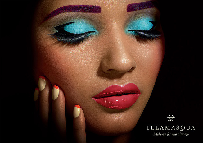 puiki:  Photography by Karin Berndl for Illamasqua SS campaign 2010