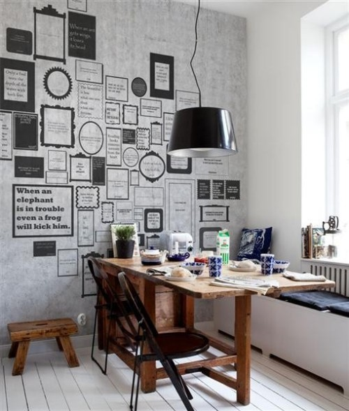 Scandinavian Wallpaper & Décor