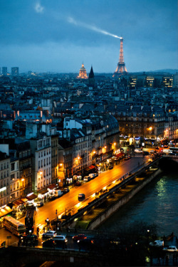 Paris - Everybody should go there at some point time in life!